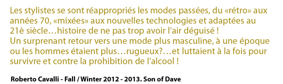 Mode automne hiver 2012-2013