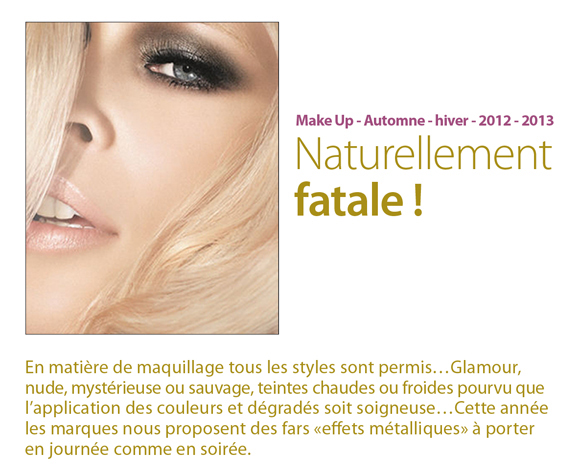 Make up automne hiver 2013 2013